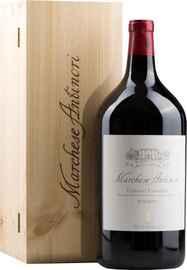 Вино красное сухое «Marchese Antinori Chianti Classico» 2013 г. в подарочной деревянной упаковке