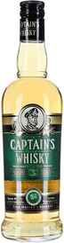 Настойка горькая «Капитанский на основе виски»