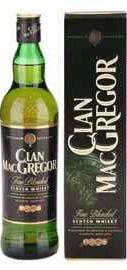 Виски шотландский «Clan MacGregor» в подарочной упаковке