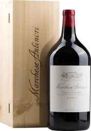Вино красное сухое «Marchese Antinori Chianti Classico Riserva» 2012 г. в подарочной деревянной упаковке