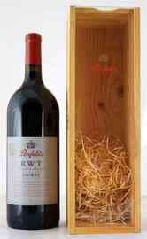 Вино красное сухое «Penfolds RWT Shiraz» 2007 г. в подарочной упаковке