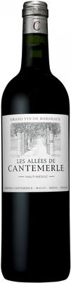 Вино красное сухое «Les Allees de Cantemerle Haut-Medoc» 2011 г.