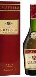 Бренди «Chatelle Napoleon VSOP» в подарочной упаковке