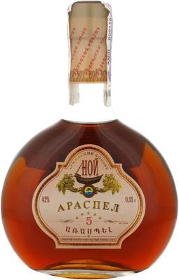Коньяк армянский «Ной Араспел 5, 0.05 л»