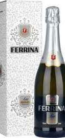 Вино игристое белое сладкое «Ferrina Asti» в подарочной упаковке