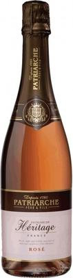 Вино игристое розовое брют «Patriarche Heritage Rose»