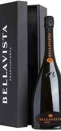 Вино игристое белое брют «Bellavista Franciacorta Brut » 2010 г., в подарочной упаковке