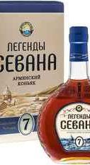 Коньяк «Legends of Sevan 7» в подарочной упаковке