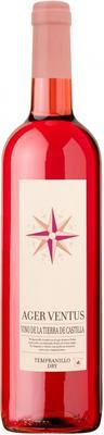 Вино розовое сухое «Ager Ventus Tempranillo Rose Dry»