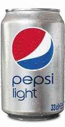 Газированный напиток «Pepsi Light» в жестяной банке