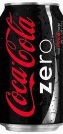 Газированный напиток «Coca-Cola Zero» в жестяной банке