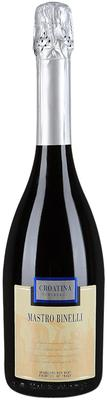 Вино игристое красное полусладкое «Mastro Binelli Croatina»