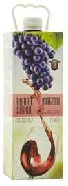 Вино красное полусладкое «Винная Феерия Изабелла»