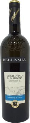 Вино белое полусухое «Bellamia Vermentino Di Sardegna»