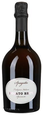Вино игристое розовое брют «Spagatto Rosato»
