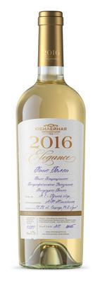 Вино белое полусухое «Пино Блан Элеганс» географического наименования