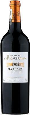 Вино красное сухое «Chateau Mongravey» 2010 г.