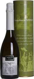 Вино игристое белое полусухое «Mastro Binelli Ortrugo» в тубе