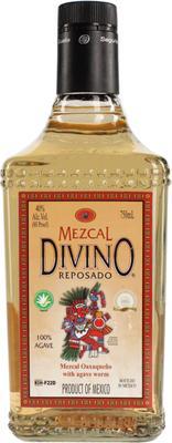 Текила «Divino Mezcal Reposado with the caterpillar»