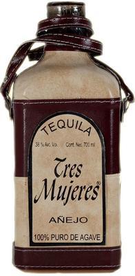Текила «Tres Mujeres Anejo in leather case»