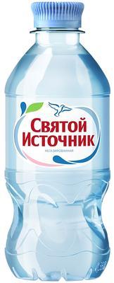 Вода негазированная «Святой Источник, 0.33 л» пластик