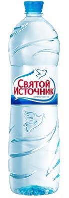 Вода негазированная «Святой Источник, 1 л» пластик