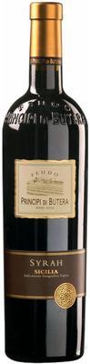 Вино красное сухое «Principi di Butera Syrah Sicilia» 2014 г.