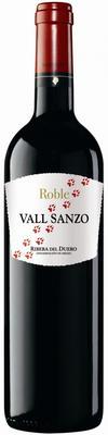 Вино красное сухое «Vall Sanzo roble» 2012 г.