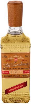 Текила «Tres Sombreros Tequila Reposado»