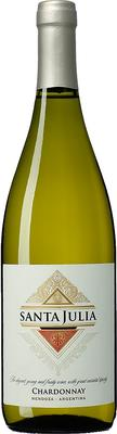 Вино белое сухое «Santa Julia Chardonnay» 2016 г.