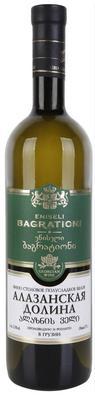 Вино белое полусладкое «Eniseli Bagrationi Alazani valley»