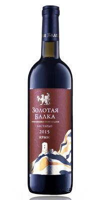 Вино столовое красное полусладкое «Бастардо Золотая Балка»