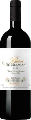 Вино красное сухое «Baron de Mermian Bordeaux Rouge»