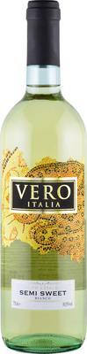 Вино белое полусладкое «Vero Italia»