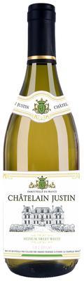 Вино белое полусладкое «Chatelain Justin»