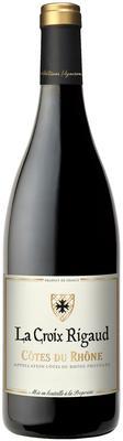 Вино красное сухое «La Croix Rigaud Cotes du Rhone»
