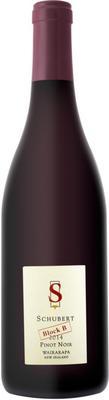 Вино красное сухое «Schubert Block B Pinot Noir Wairarapa» 2014 г.