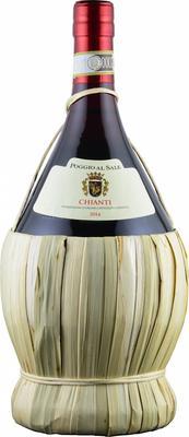 Вино красное сухое «Poggio Al Sale Chianti, 0.75 л»