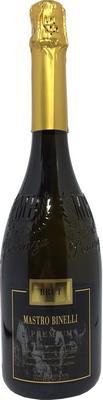 Вино игристое белое брют «Mastro Binelli Premium Brut»