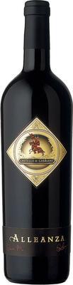 Вино красное сухое «Alleanza Castello di Gabbiano»