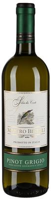 Вино белое полусладкое «Mastro Binelli Pinot Grigio»