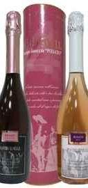 Вино игристое розовое полусладкое «Mastro Binelli Rosato» в тубе