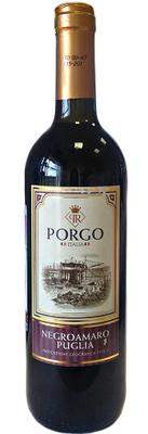 Вино красное полусухое «Porgo Negroamaro»