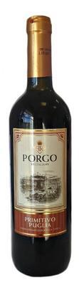 Вино красное полусухое «Porgo Primitivo»