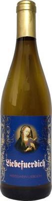 Вино столовое белое полусладкое «Liebefuerdich» коричневая бутылка