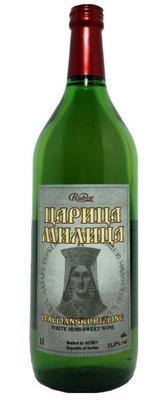 Вино столовое белое полусладкое «Царица Милица Итальянский Рислинг»