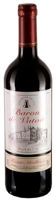 Вино столовое красное полусладкое «Baron de Vatoit»