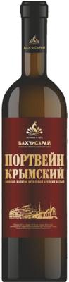 Винный напиток креплёный крепкий белый «Портвейн Крымский»