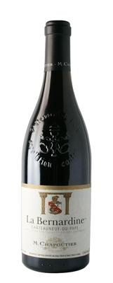 Вино красное сухое «Chateauneuf-du-Pape  La Bernardine M.Chapoutier» 2014 г.