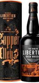 Виски ирландский «The Dublin Liberties Copper Alley 10 YO Irish Single Malt» в тубе